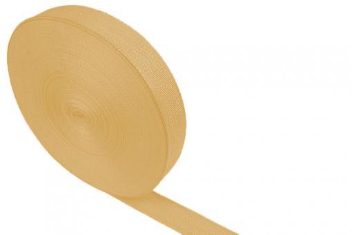 Gurtband - Panamabindung - 4 cm - Meterware Beige