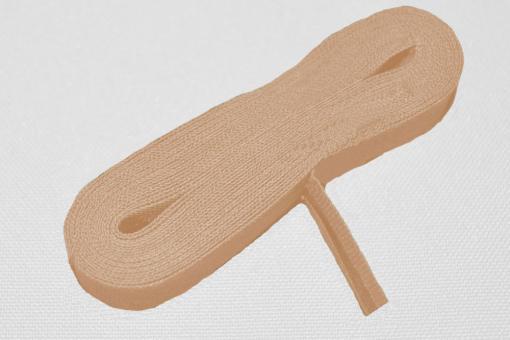 Schrägband 20/40 mm breit - meterweise Beige