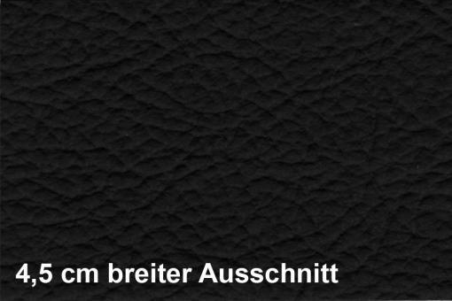 Lederimitat bielastisch - Lederprägung - Schwarz