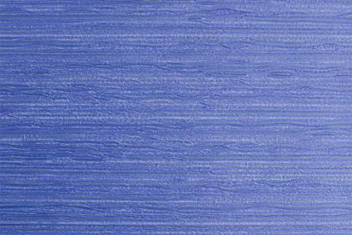 Leder Imitat - Streifenprägung Royalblau