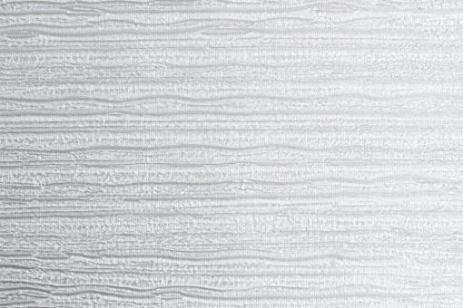 Leder Imitat - Streifenprägung Silber-Metallic