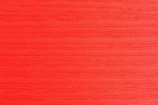 Leder Imitat - Streifenprägung Rot