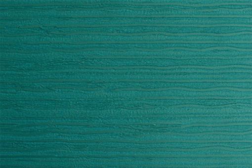 Leder Imitat - Streifenprägung Grün-Blau