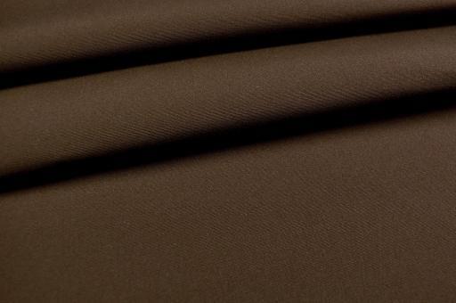 Markisenstoff Madeira - 160 cm wasserabweisend - Uni Dunkelbraun