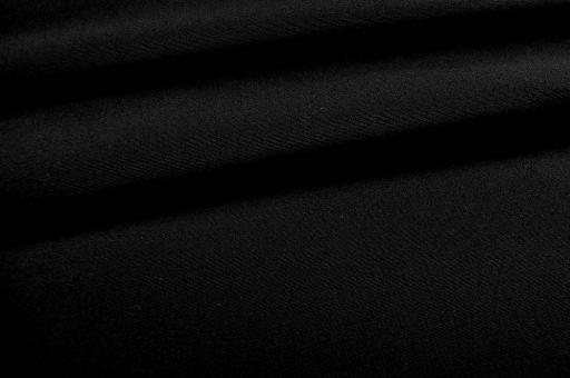 Markisenstoff Madeira - 160 cm wasserabweisend - Uni Schwarz
