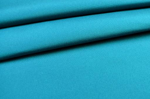 Markisenstoff Madeira - 160 cm wasserabweisend - Uni Türkis