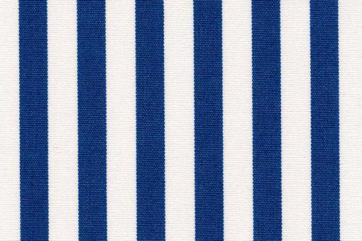 Markise Spain Summer - fein gestreift Weiß/Blau