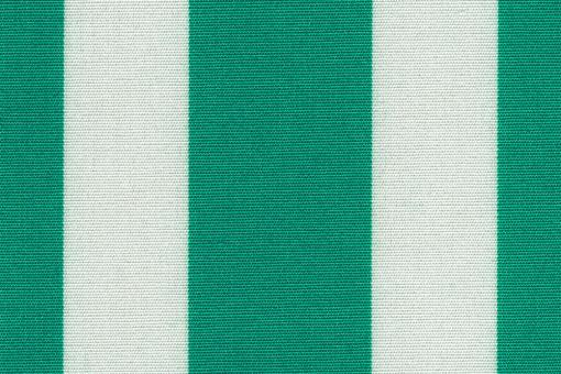 Markise Spain Summer - Streifenvariationen Grün/Creme