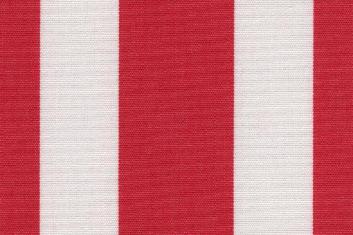 Markise Spain Summer - Streifenvariationen Weiß/Rot