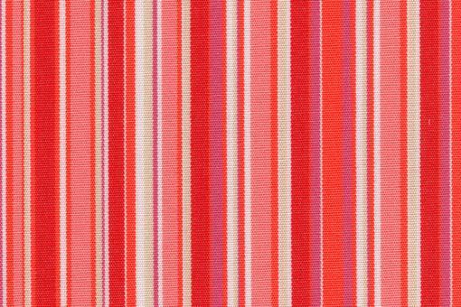 Markise Spain Summer - Streifen fun Rottöne