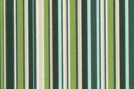 Markise Spain Summer - Streifen fun Grüntöne