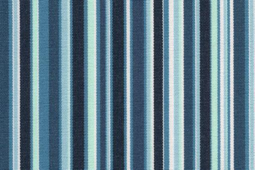 Markise Spain Summer - Streifen fun Blautöne