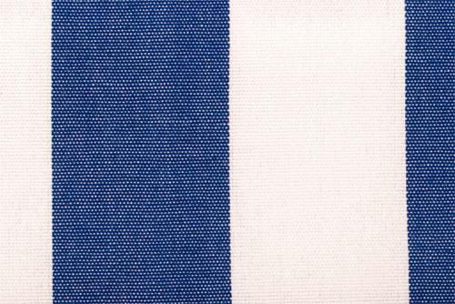 Markisenstoff Spain Summer - 160 cm - Blockstreifen Blau Melange Blockstreifen
