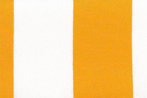 Markisenstoff Spain Summer - 160 cm - Blockstreifen Gelb Blockstreifen