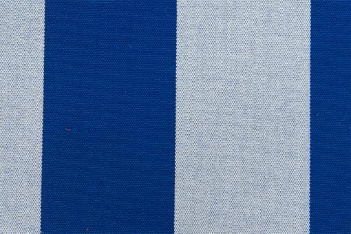 Markisenstoff 140 cm - Italy Sun - Blockstreifen Nachtblau - Melange
