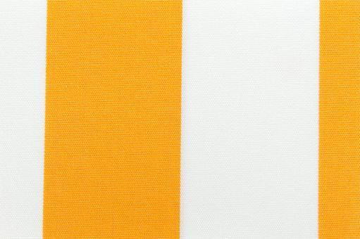 Markisenstoff 140 cm - Italy Sun - Blockstreifen Gelb / Weiß
