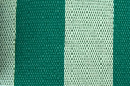 Markisenstoff 140 cm - Italy Sun - Blockstreifen Grün - Melange