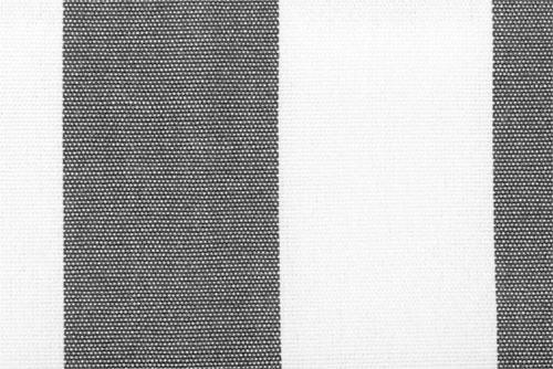 Markisenstoff Spain Summer - 160 cm - Blockstreifen Grau Bockstreifen