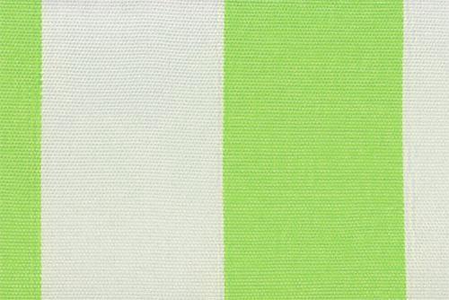 Markisenstoff Spain Summer - 160 cm - Blockstreifen Hellgrün Blockstreifen
