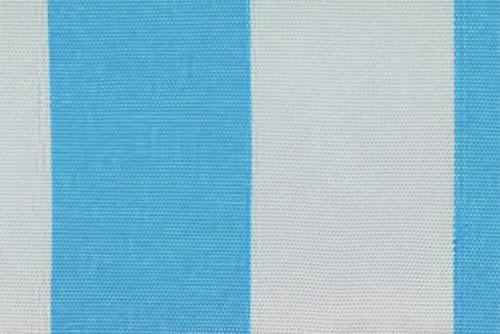 Markisenstoff Spain Summer - 160 cm - Blockstreifen Türkis Blockstreifen
