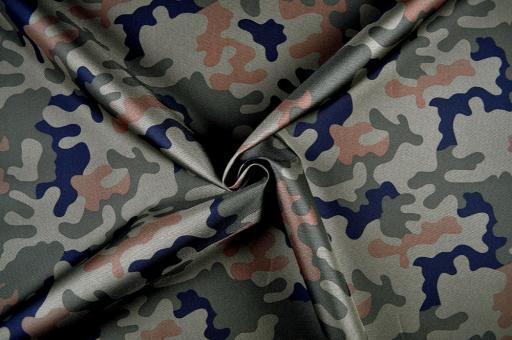 Polyester schwer - reißfest - Camouflage