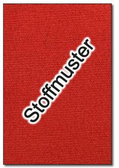 Stoffmuster: Markisenstoff Spain Summer - 320 cm - Uni - Rot