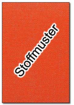 Stoffmuster: Markisenstoff Spain Summer - 320 cm - Uni - Orange