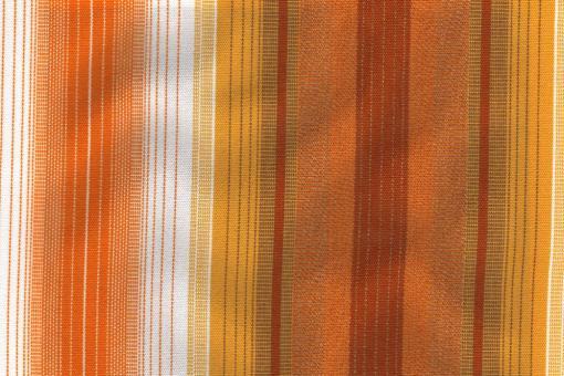 Möbelstoff Außenbereich - Multistreifen Orange-/Gelbtöne