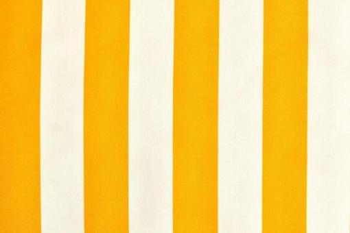 Outdoor-Stoff Garda - Streifenvariationen - 45 cm Gelb/Weiß