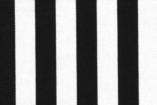 Outdoor-Stoff Garda - Streifenvariationen - 45 cm Schwarz/Weiß