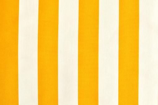 Outdoor-Stoff Garda - Blockstreifen - 60 cm Gelb/Weiß