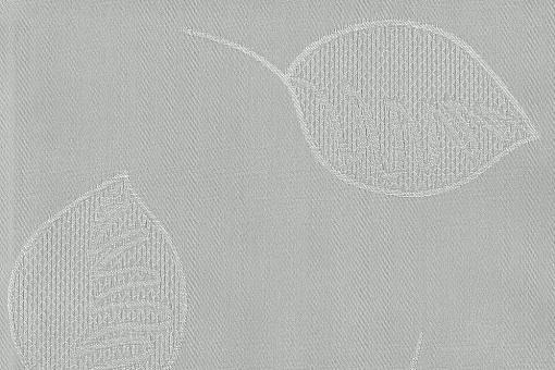 Outdoor Stoff - Leaves Hellgrau