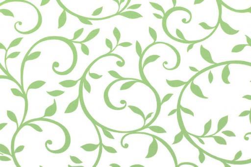 Outdoor Stoff - Spain Terrazza - Blattranke - Hellgrün/Weiß
