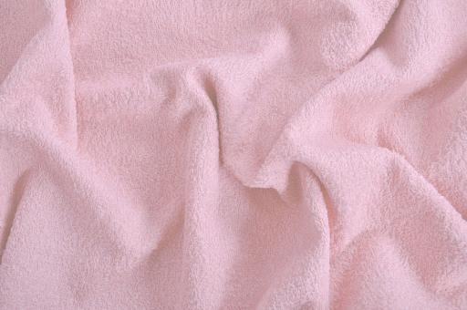 Frottee 2-seitig - 140 cm Rosa