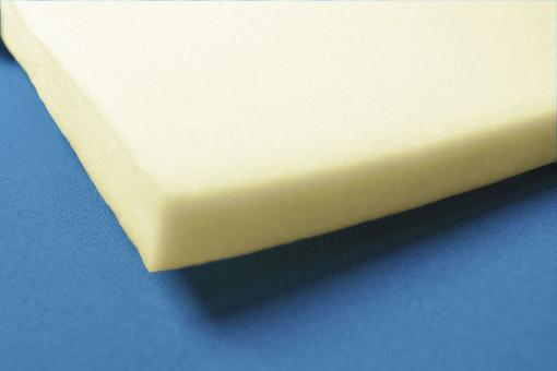 Schaumstoff stabil - 206 x 130 cm - 3 cm dick - Gelb
