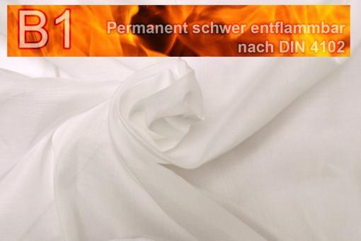 Beschattungsstoff permanent schwer entflammbar - 610 cm - Creme