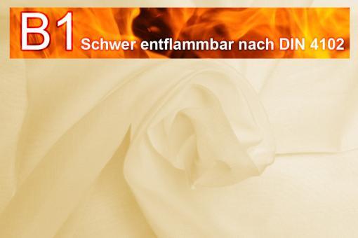 Beschattungsstoff - leichte Baumwolle - B1 - 420 cm Sand