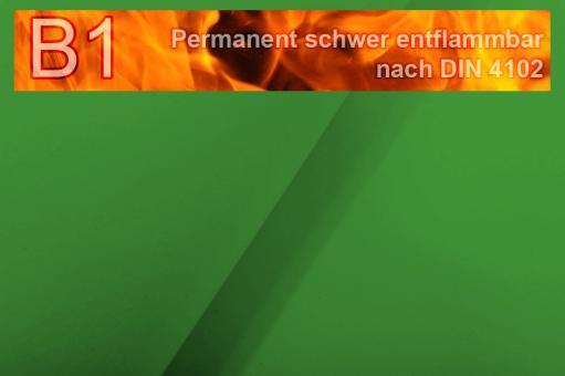 Segeltuch I permanent schwer entflammbar - 610 cm Grün