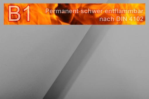 Segeltuch I permanent schwer entflammbar - 610 cm Hellgrau