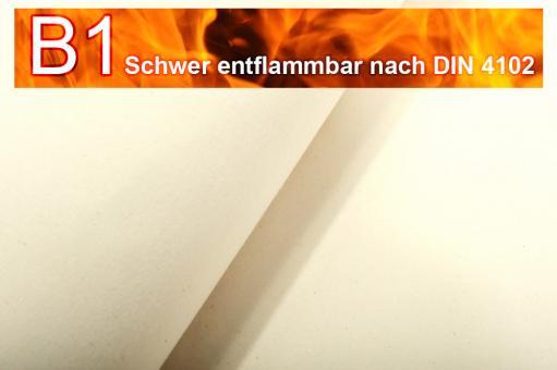 Segeltuch I permanent schwer entflammbar - 510 cm Cremeweiß