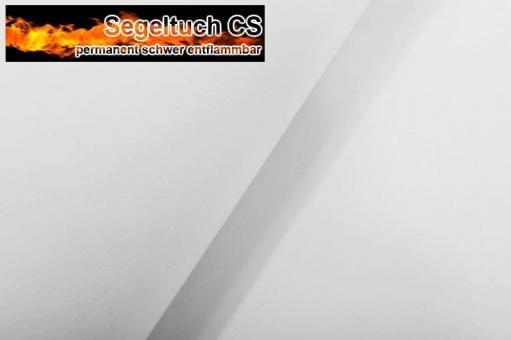 Segeltuch 430 g - TREVIRA CS - 500 cm Weiß