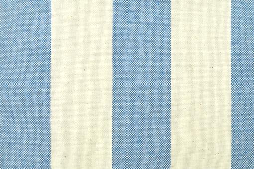Segeltuch Basic - 280 cm - Blockstreifen - Blau