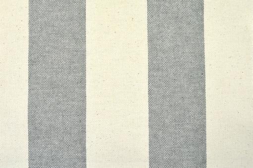 Segeltuch Basic - 280 cm - Blockstreifen - Grau