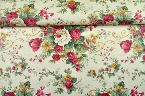 Flowers for a better Time - Tischdeckenstoff