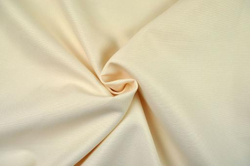Canvas-Stoff - wasserdicht - Creme