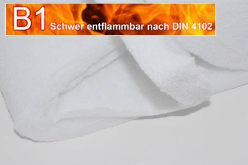 Wattevlies schwer entflammbar - Stärke: 4 cm