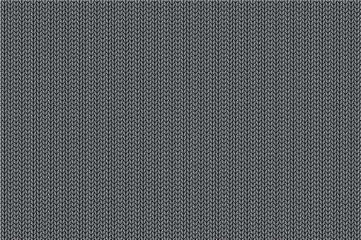 Gewirke - Türvorhang-Stoff Grau