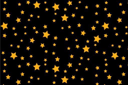 Starlight - Türvorhang-Stoff Schwarz