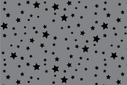 Starlight - Türvorhang-Stoff Grau