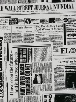 Zeitung- Altweiss